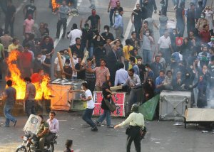 Resistance on the streets of Tehran